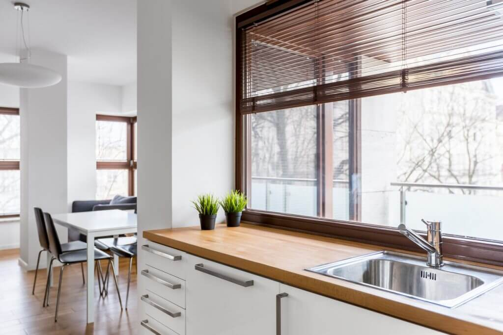 Large Window in the Kitchen