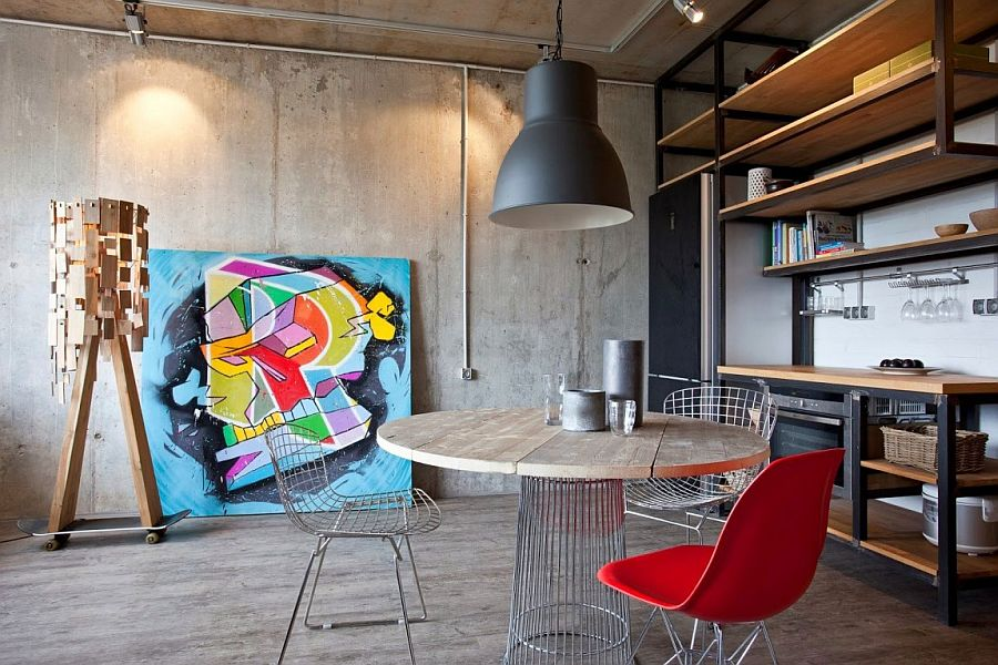 Exposed Walls and Wood Materials