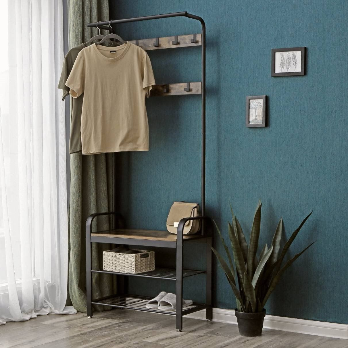 Industrial Style Shoe Rack