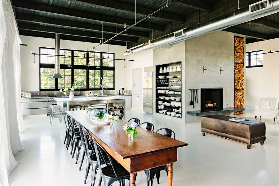 Industrial Style with Open Space