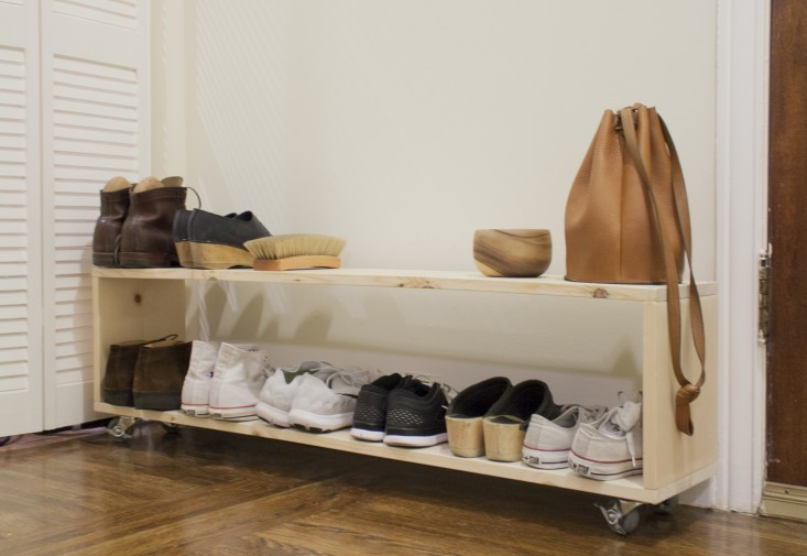Minimalist Shoe Rack