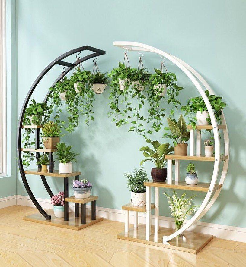 Circular Ornamental Plant Rack