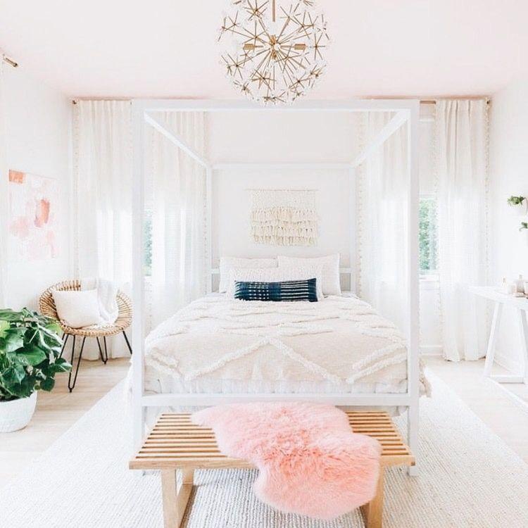 Shabby Chic Bohemian Bedroom Design
