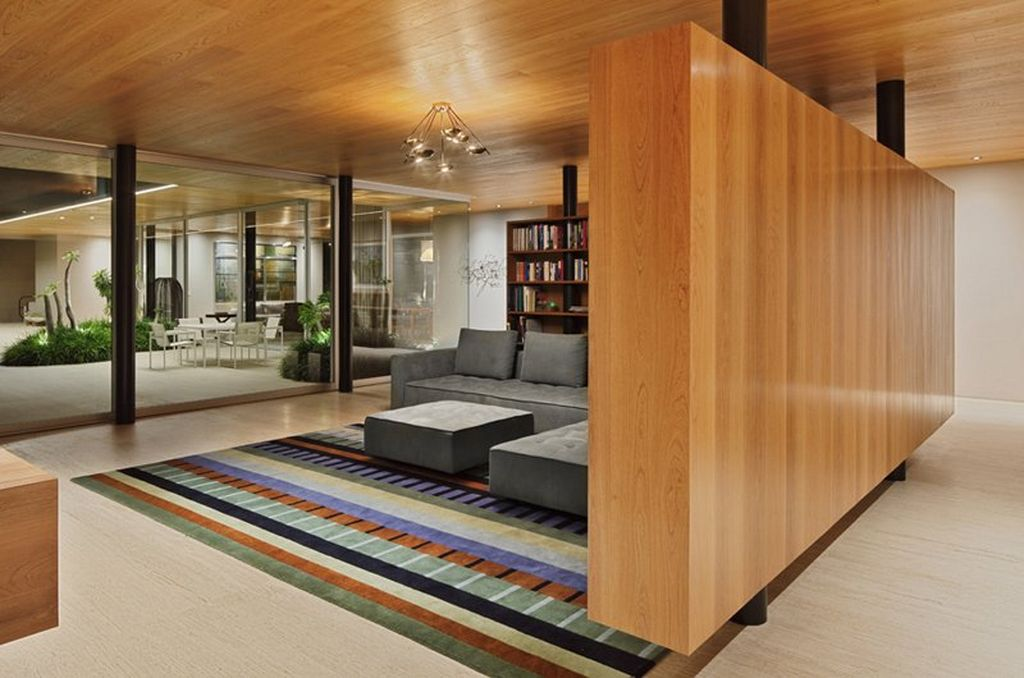 Wooden Wall Room Partitions