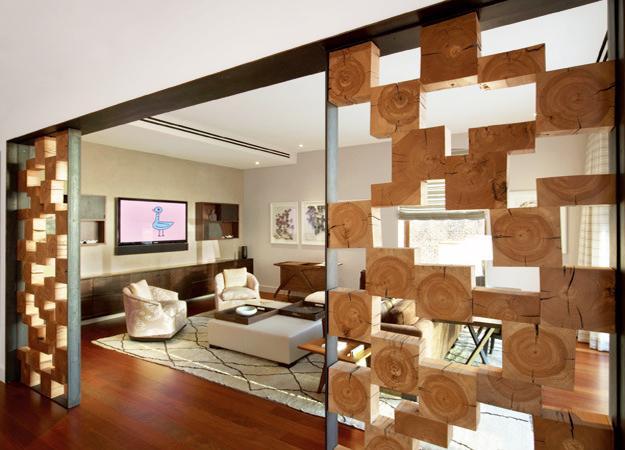 Unique Wooden Room Partitions