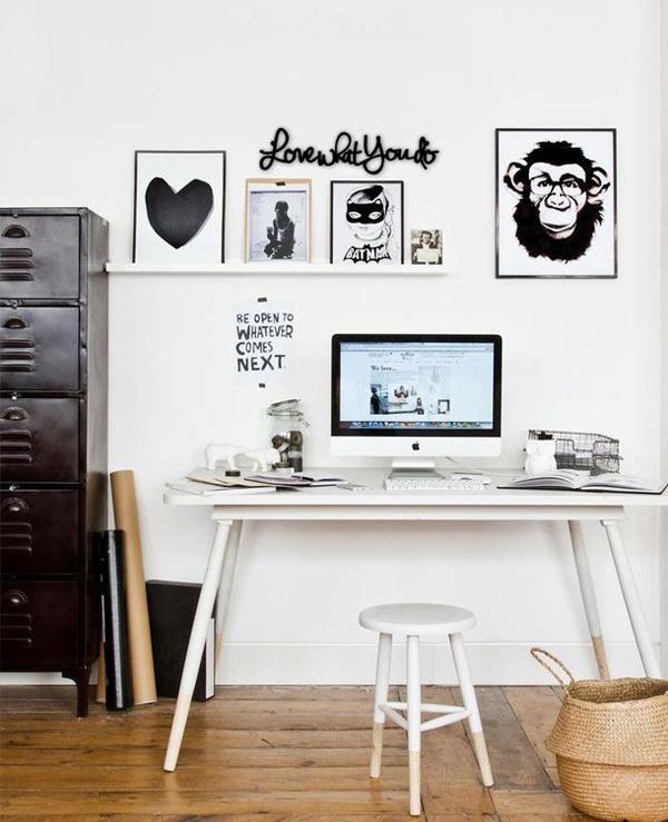 Minimalist and Youthful Workspace