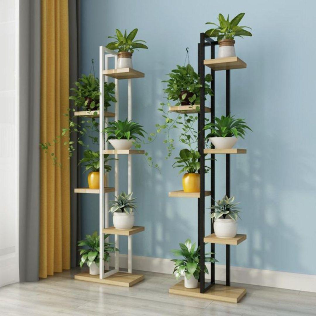 Zig Zag Ornamental Plant Rack