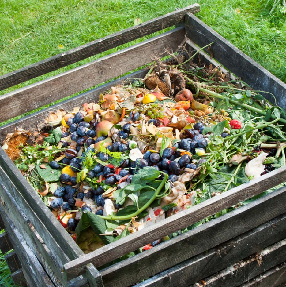 Prepare the place for composting