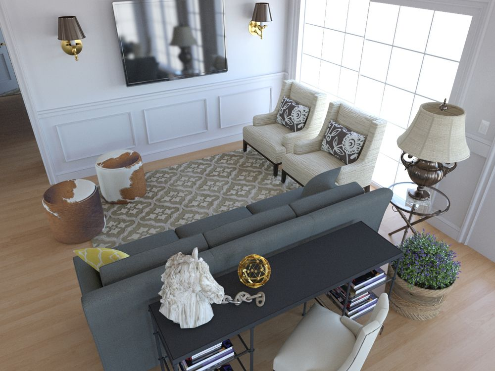 Behind Your Living Room Sofa