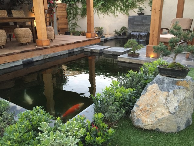 Mini Garden With Fish Pond