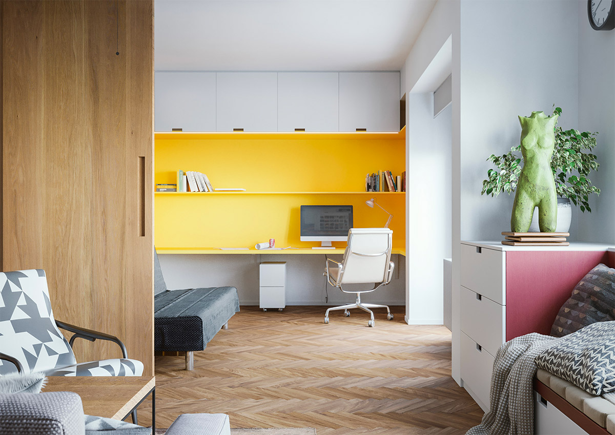 Open Space Concept Workspace