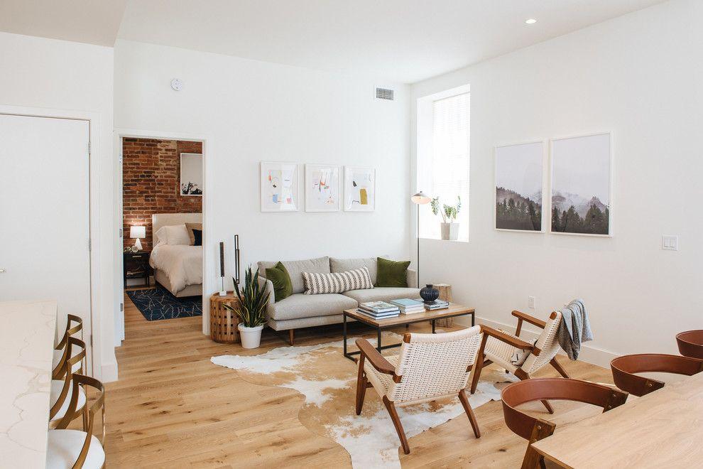 Rustic Minimalist Living Room