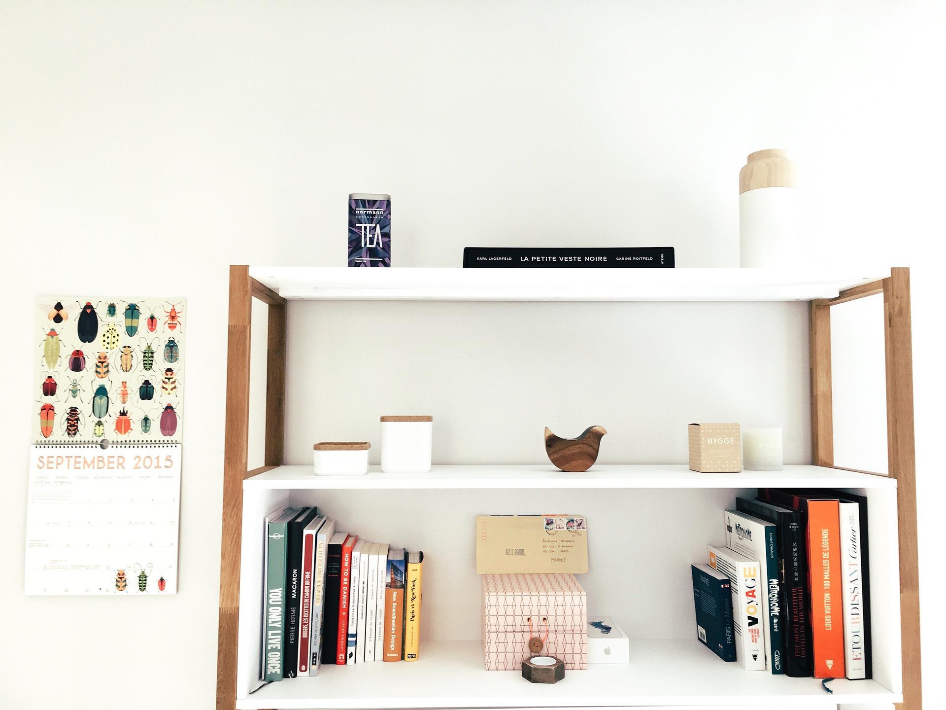 Simple Modern Bookshelf