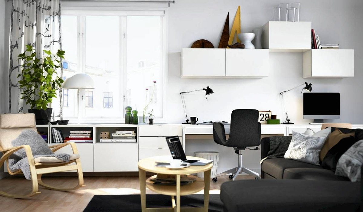 Create a Work Station In Your Living Room