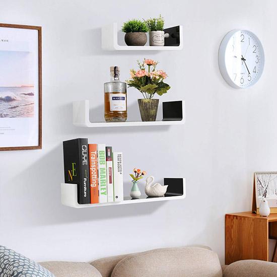 Wall Minimalist Bookshelf