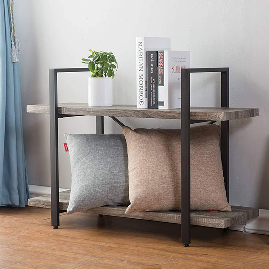 Simple Industrial Bookshelf