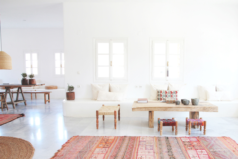Basic Color of Bohemian Interior Style