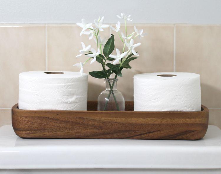 Bathroom Tissue Container