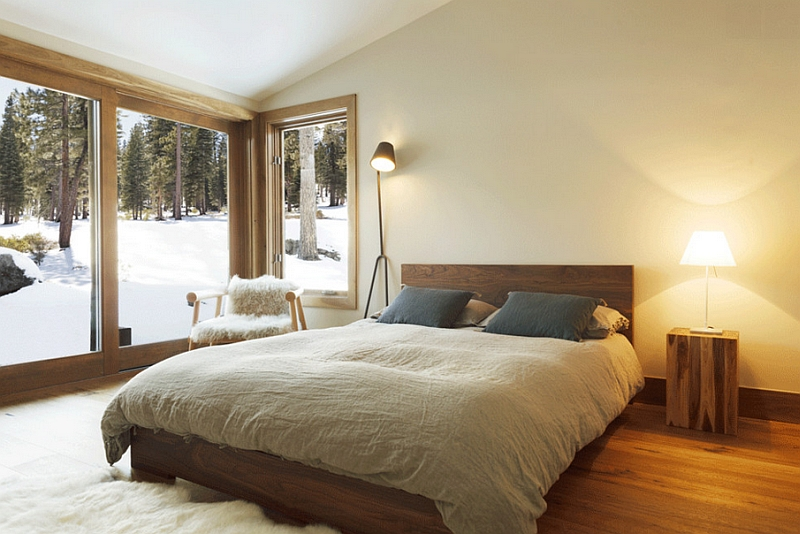 Warm Minimalist Bedroom