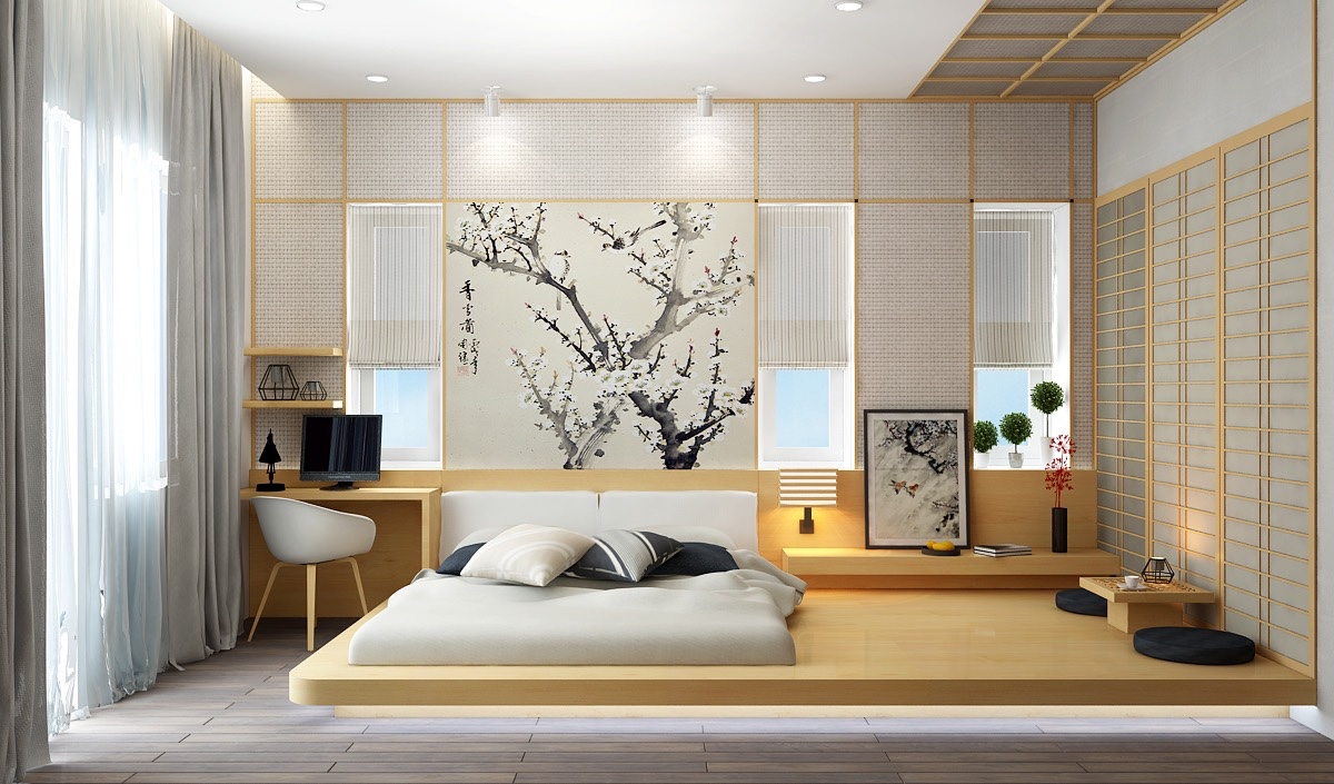 Japanese Minimalist Bedroom
