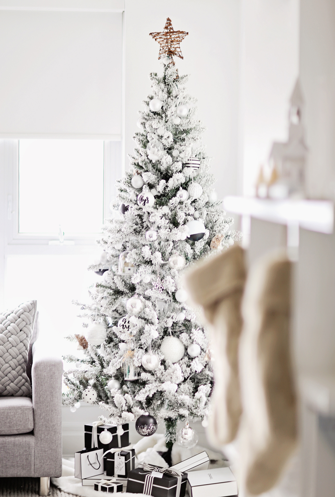 Monochrome Christmas Tree