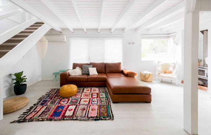 Simple Bohemian Living Room