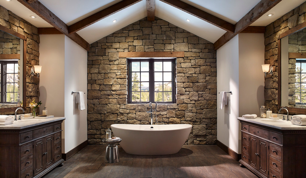 Rustic Interior Design - Bathroom
