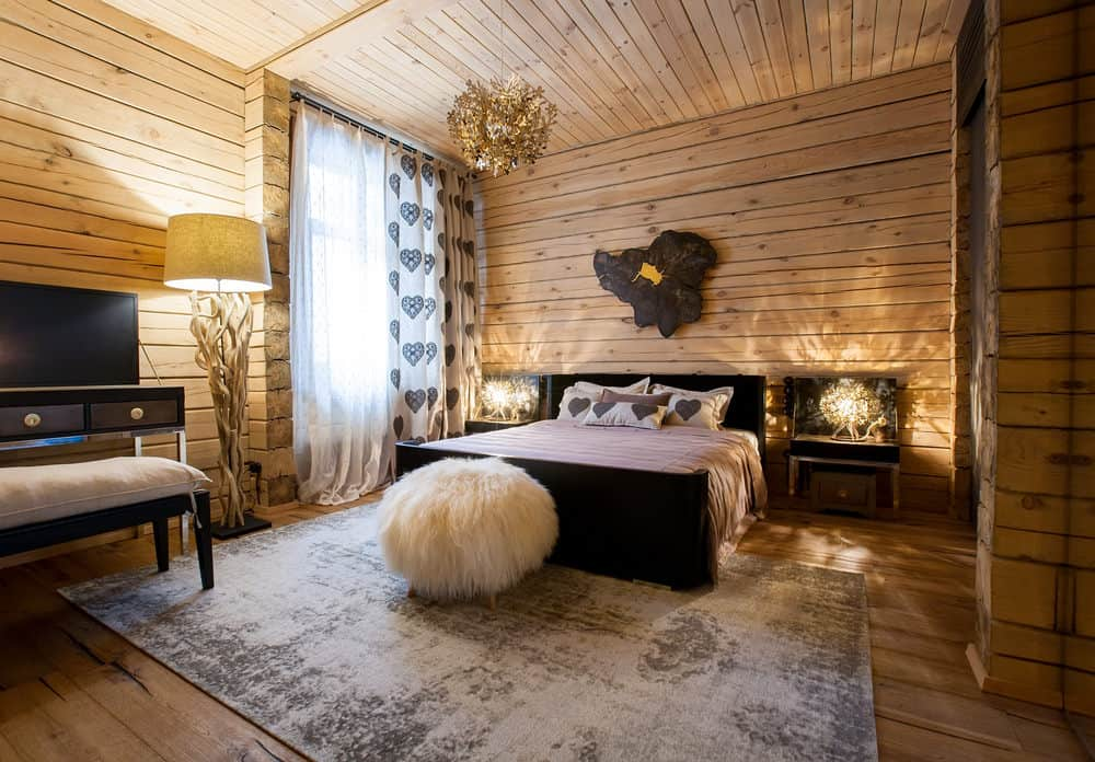 Rustic Interior Design - Bedroom