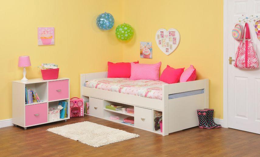 Cheerful Minimalist Children's Bedroom