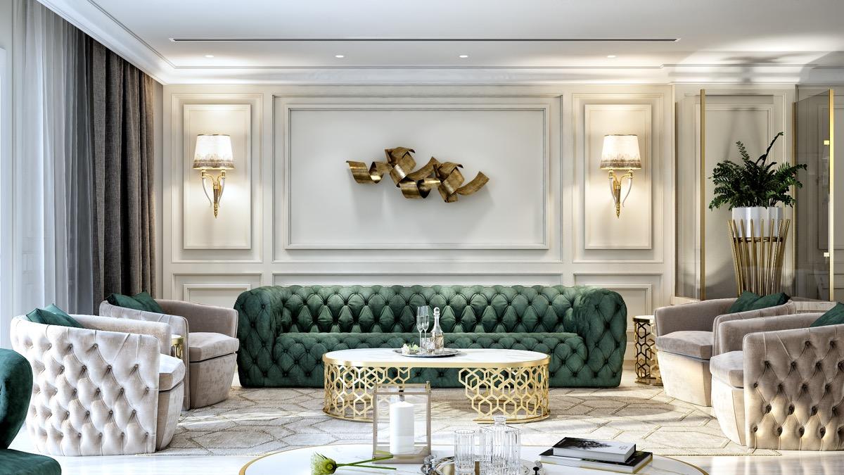 Classic Luxury Living Room