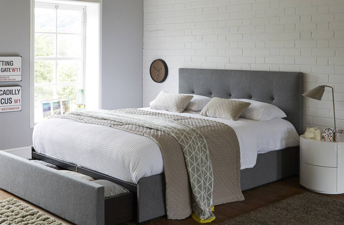 Gray Small Bedroom