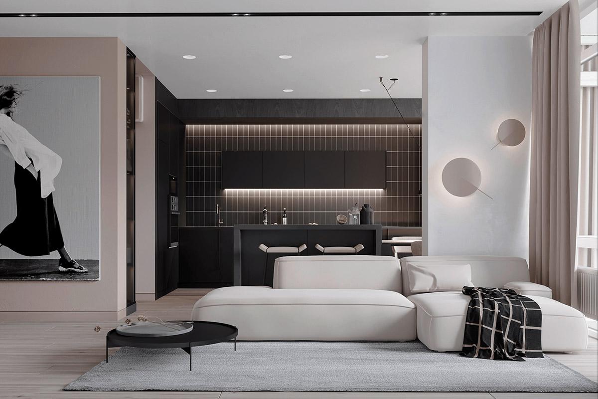 Minimalist Luxury Living Room
