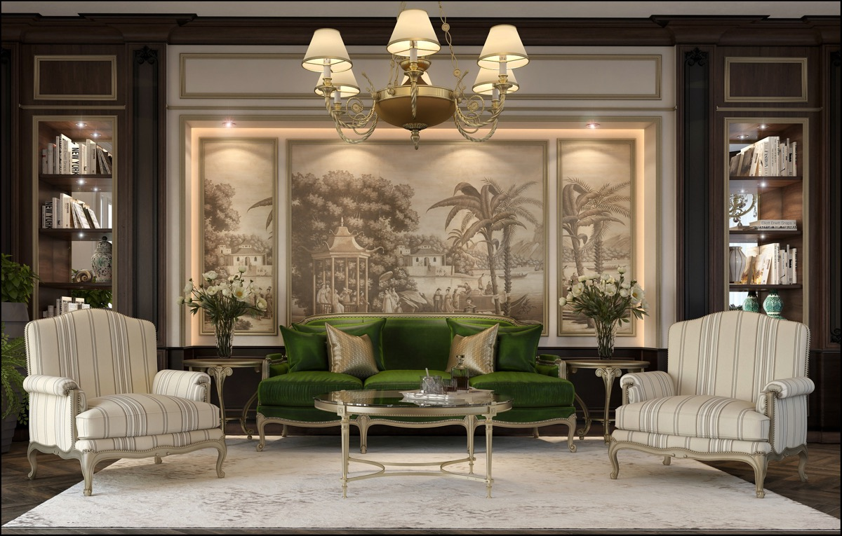 Traditional Luxury Living Room