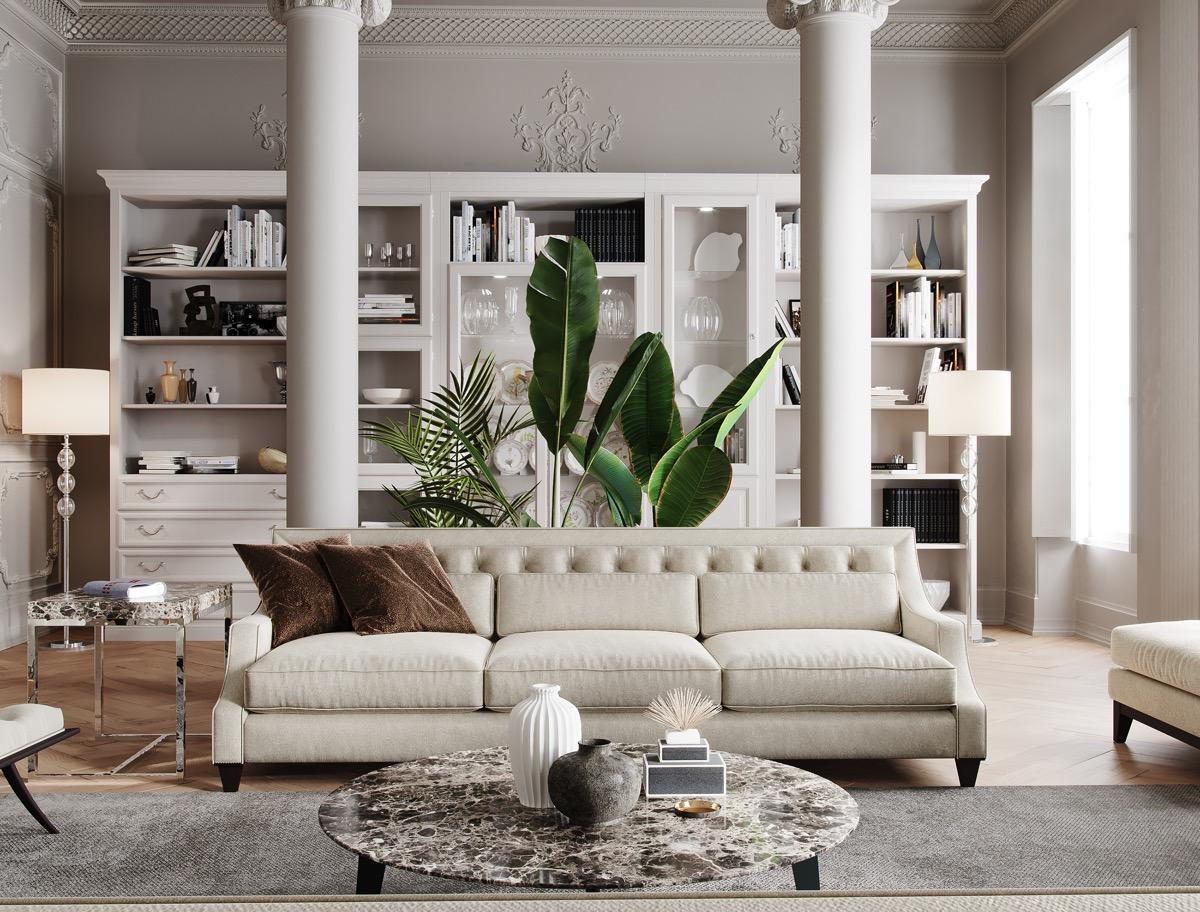 Tropical Luxury Living Room