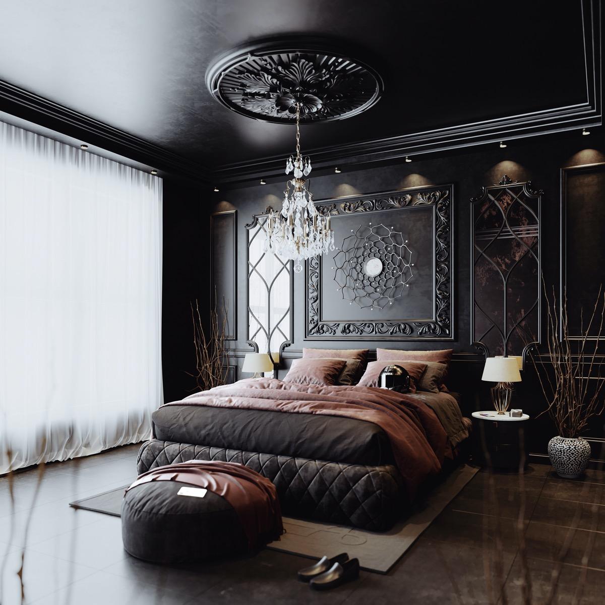Aesthetically Elegant Bedroom