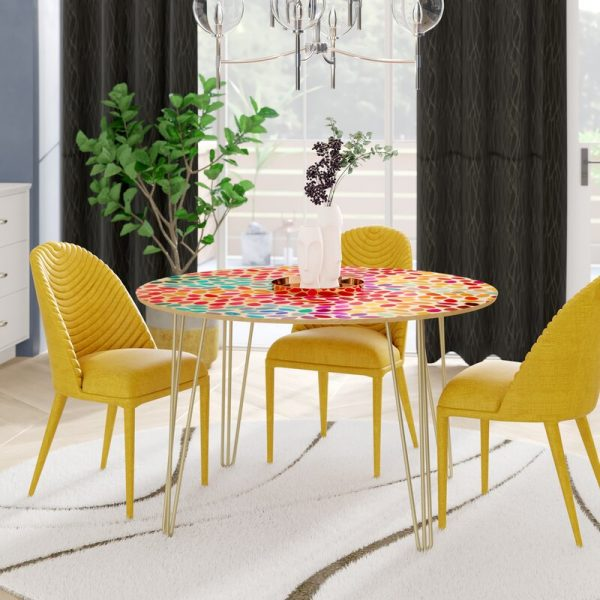 Cheerful Small Dining Table