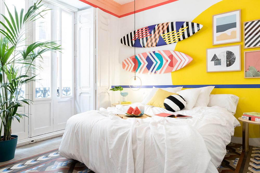 Nautical Artistic Bedroom