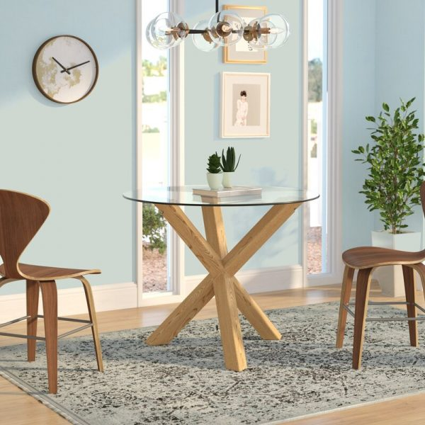 Scandinavian Small Dining Table
