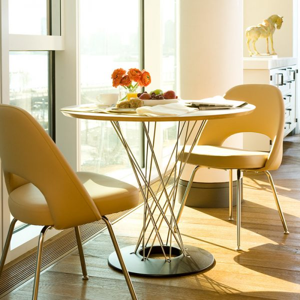 Sculptural Small Dining Table