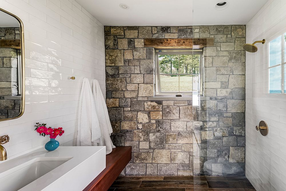 Tiled Wall Rustic
