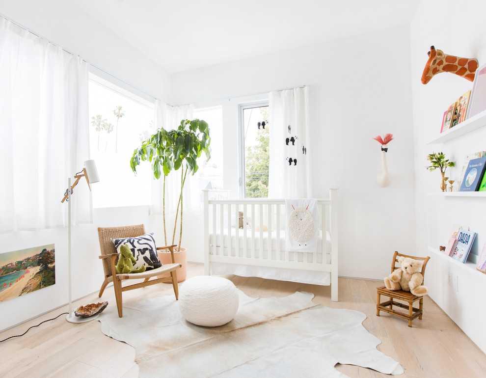 Tropical Minimalist Children's Bedroom