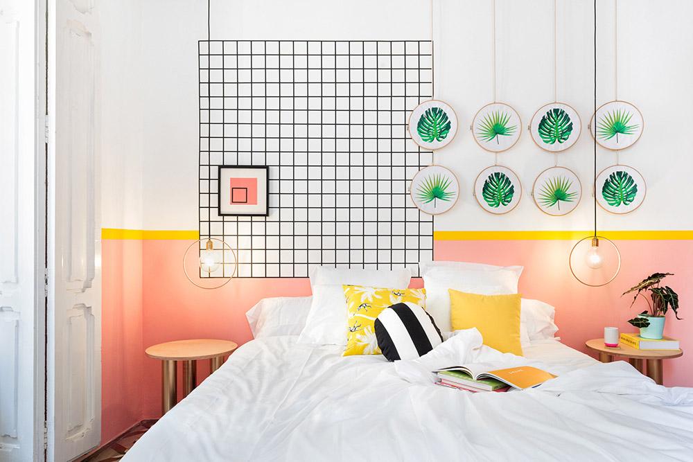 Tropical Artistic Bedroom