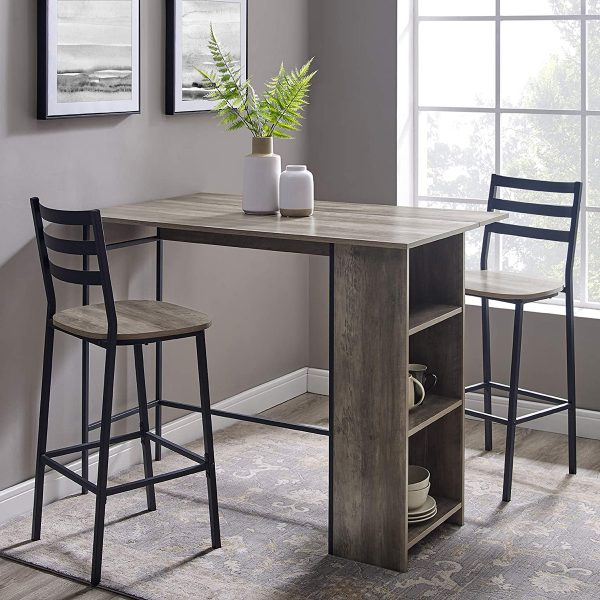 Small Dining Table with Storage