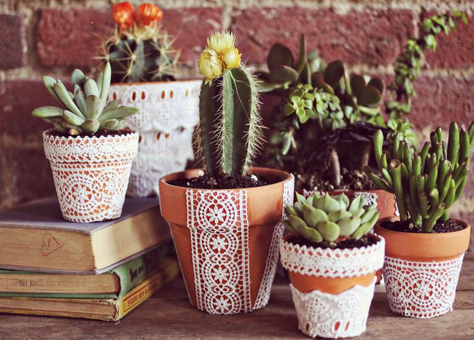 Use Pots with Attractive Designs