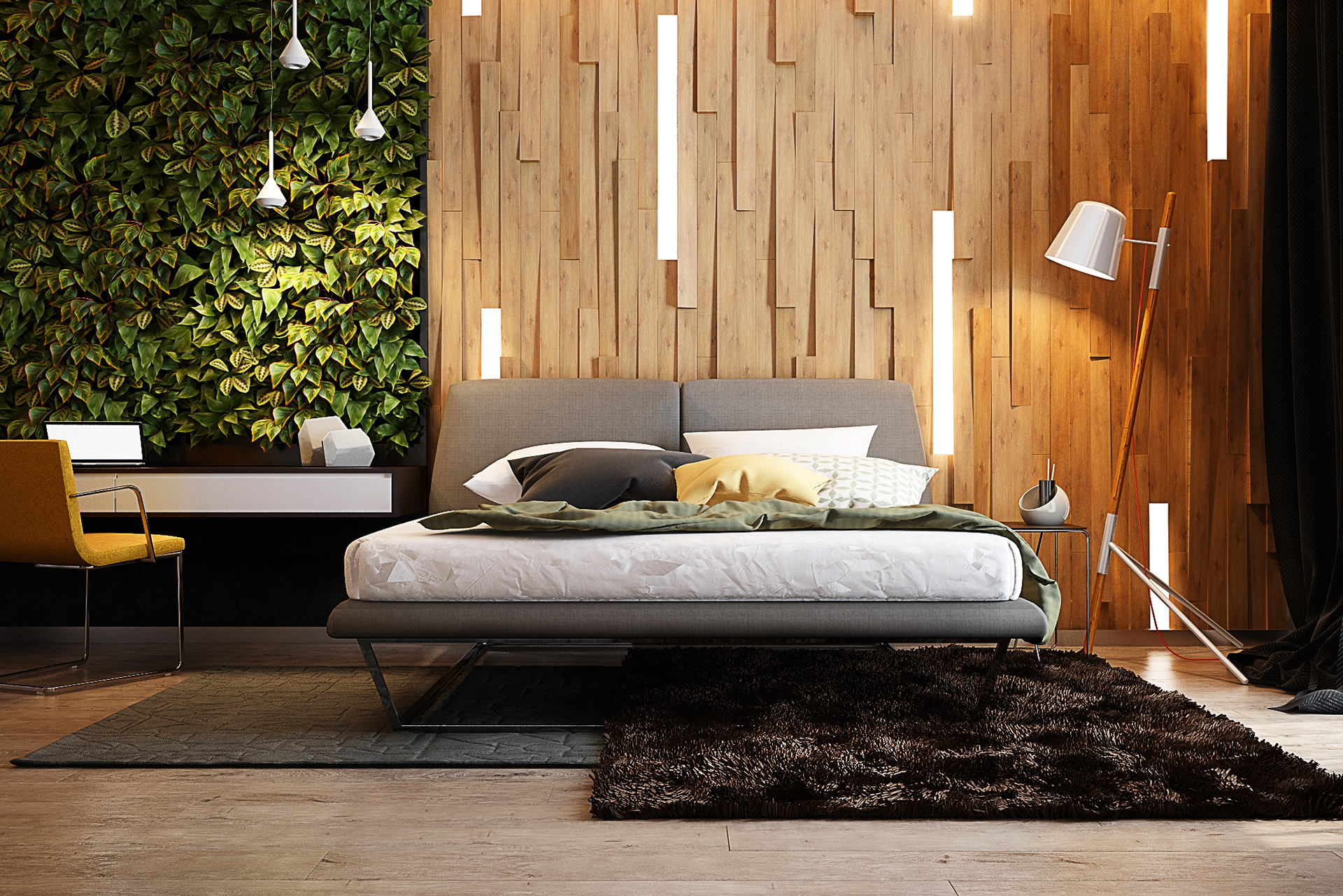 Bedroom in Tropical Style