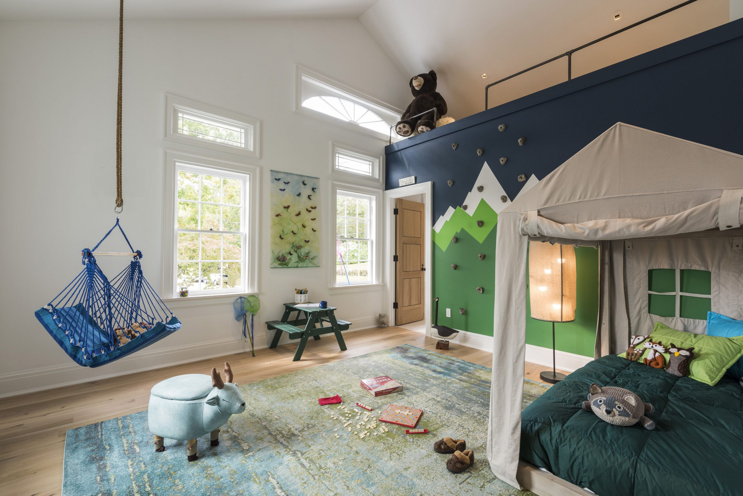 Bedroom with Play Area