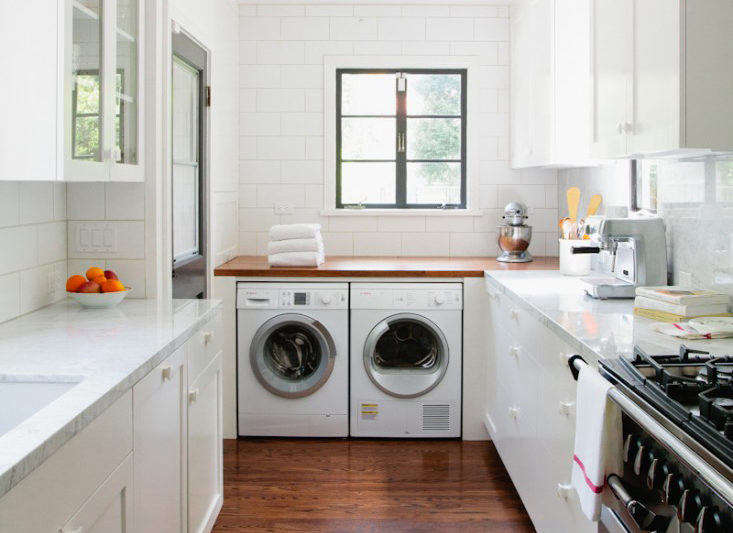 Kitchen with Laundry Room