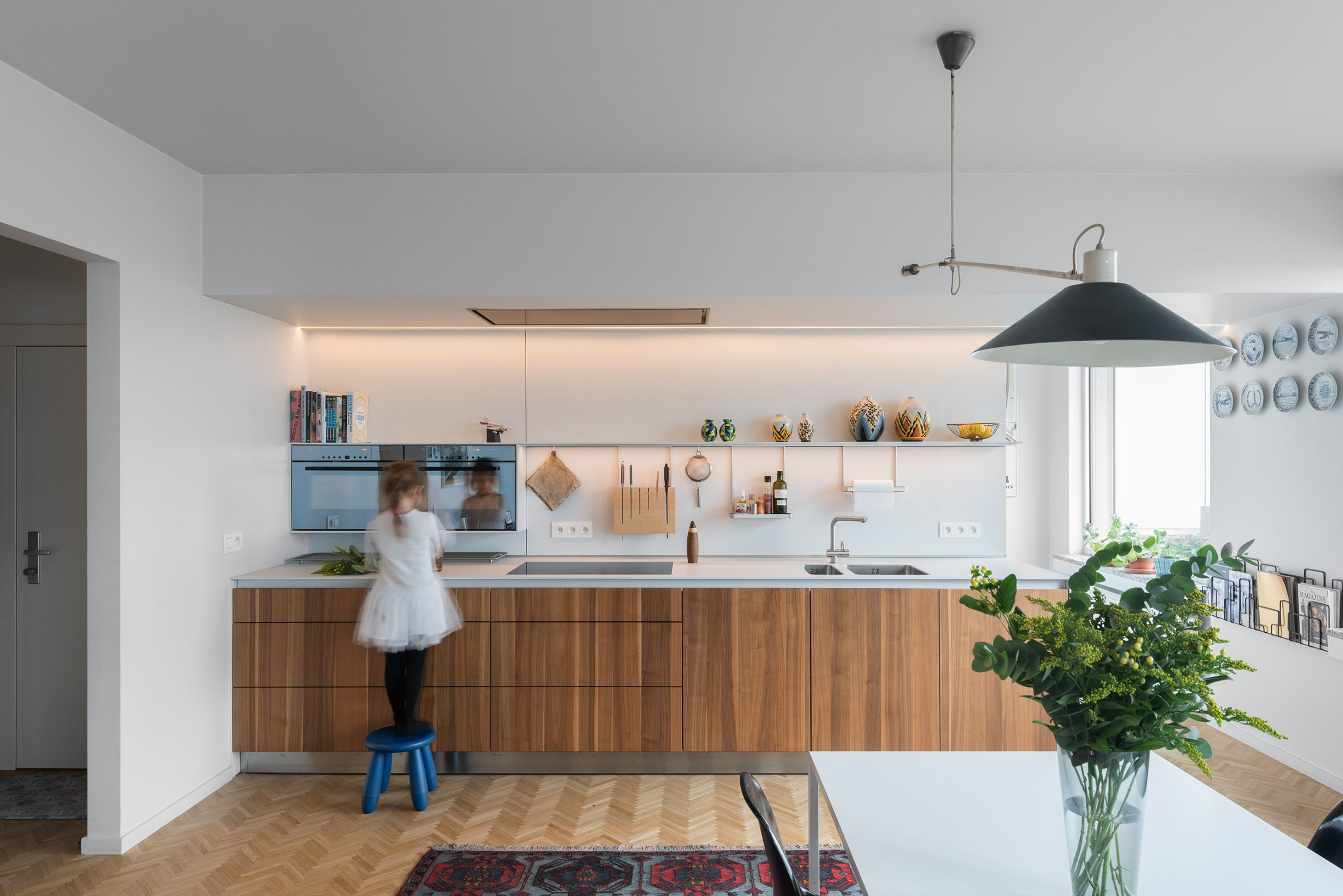 Single Wall Kitchen