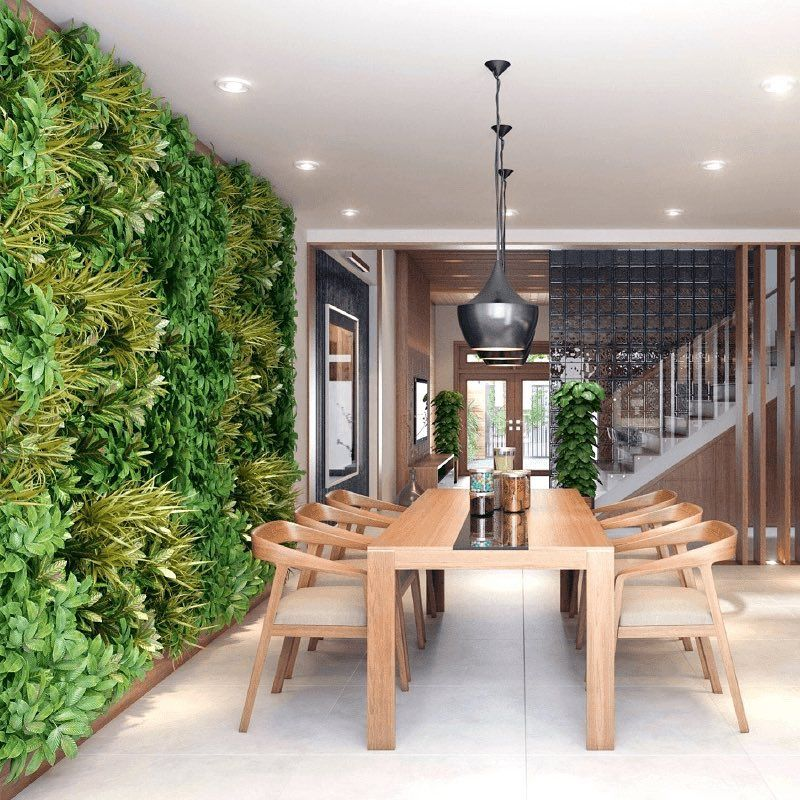 Tropical Atmosphere Dining Room